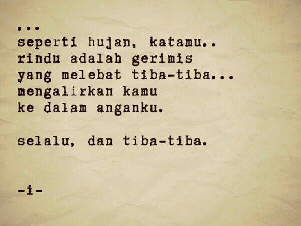 Indonesia#puisi#poetry#hujan