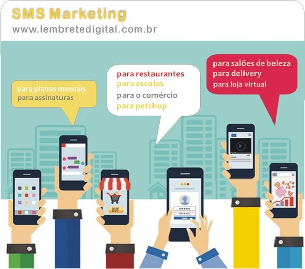 Lembrete Digital | SMS Marketing