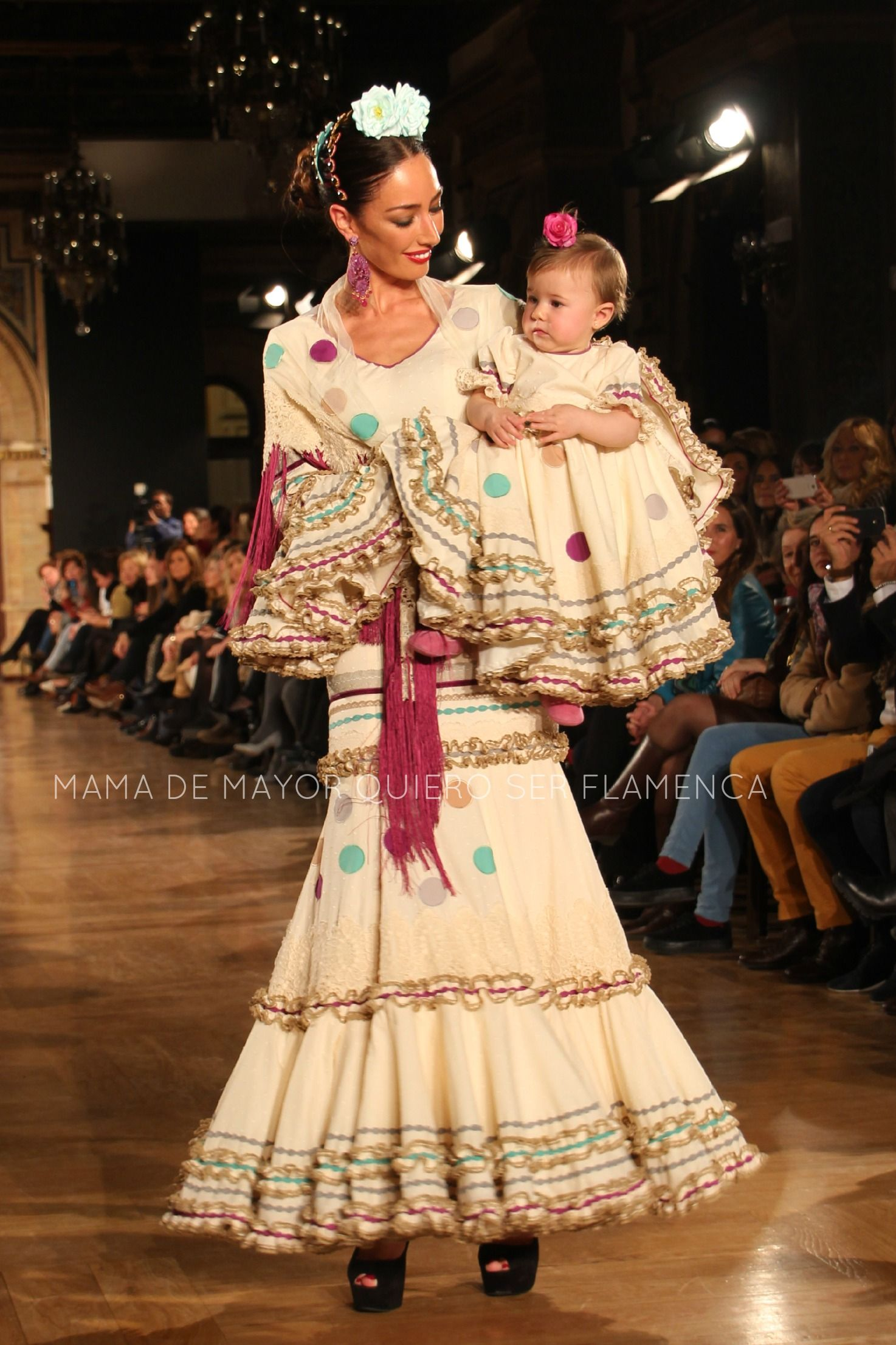 """We Love Flamenco 2015 · ENTRE DOS AGUAS – """"El Ajolí""""   Por Elena Rivera vía Mamá de Mayor Quiero Ser Flamenca."""
