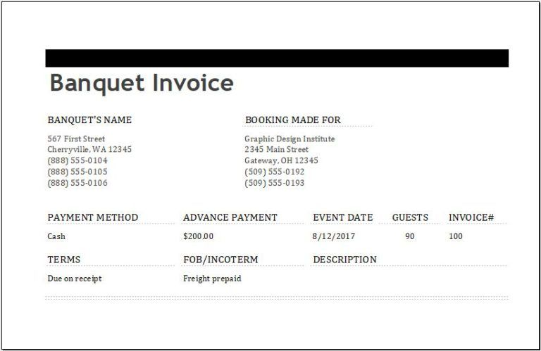 Ms Excel Consignment Invoice Template Excel Invoice Templates Invoice Template Invoicing Business Template