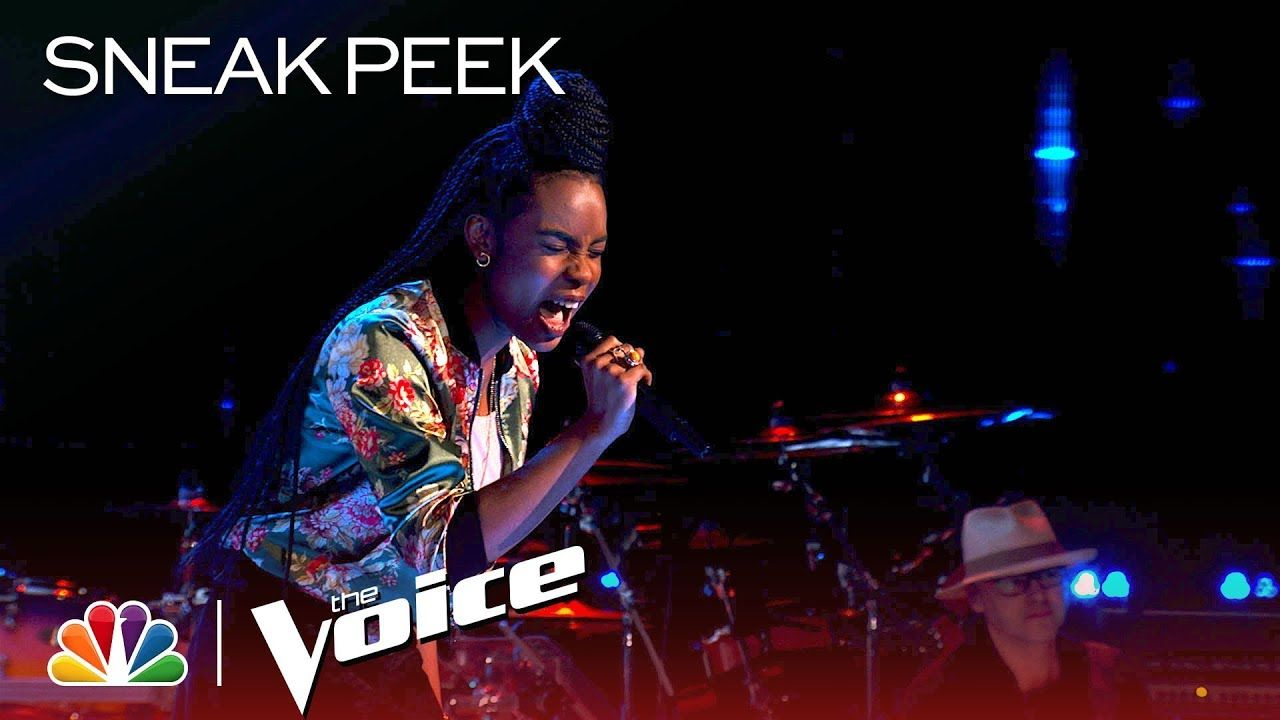 The Voice 2018 Blind Auditions Kennedy Holmes Cover Of Adele S