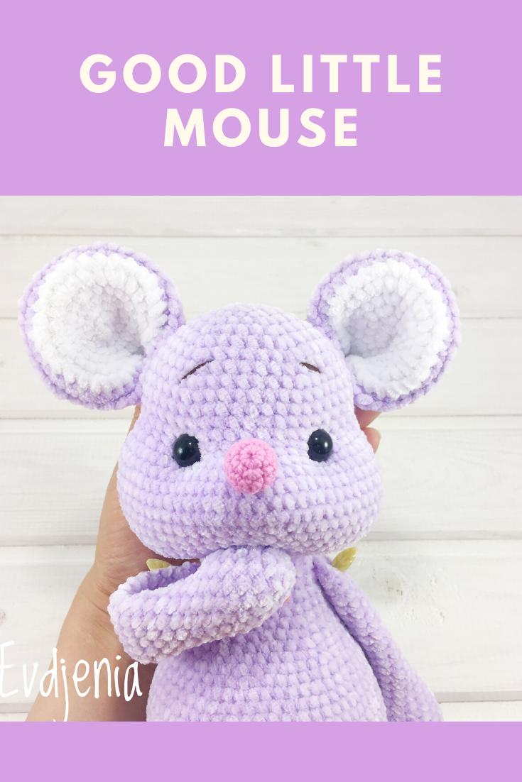 Sweet Mouse Amigurumi Free Crochet Patterns | 1102x735