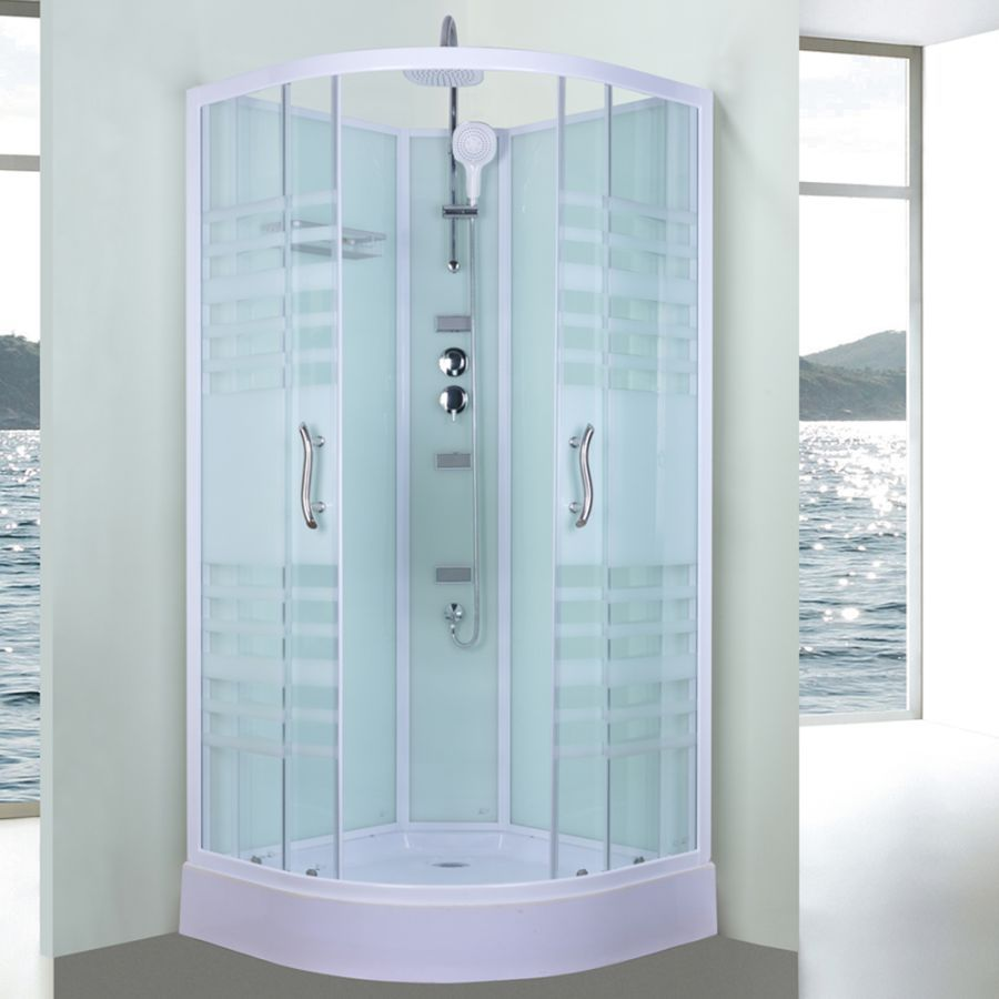 Aeros 11000 Series Shower Cubicle Set | Shower cubicles, Cubicle and ...