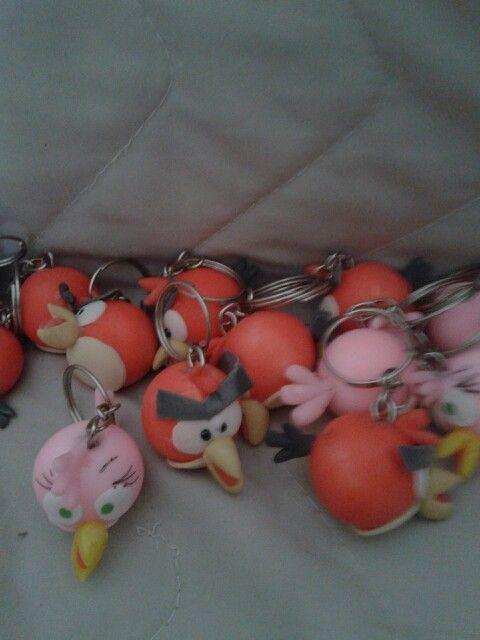 Chaveiros do angry birds