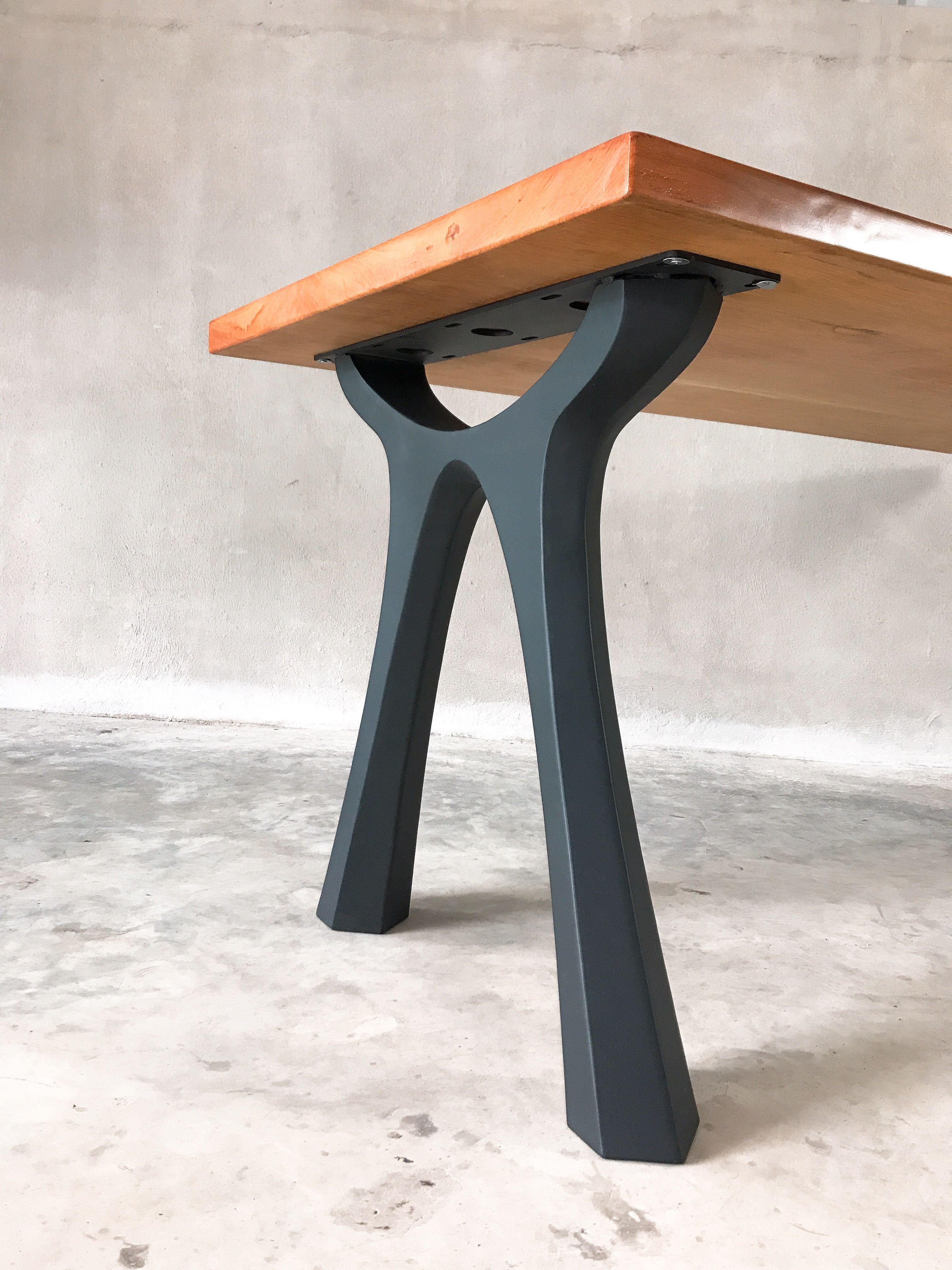 Fantastic Table Metal Legs Base For Dinning Table Live Edge Table Beutiful Home Inspiration Aditmahrainfo