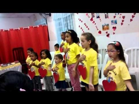 Jesus Mora Na Casinha Do Meu Coracao Youtube Criancas Cantando
