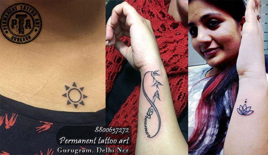 sun tattoo desig, infinity tattoo with bird tattoo, lotus