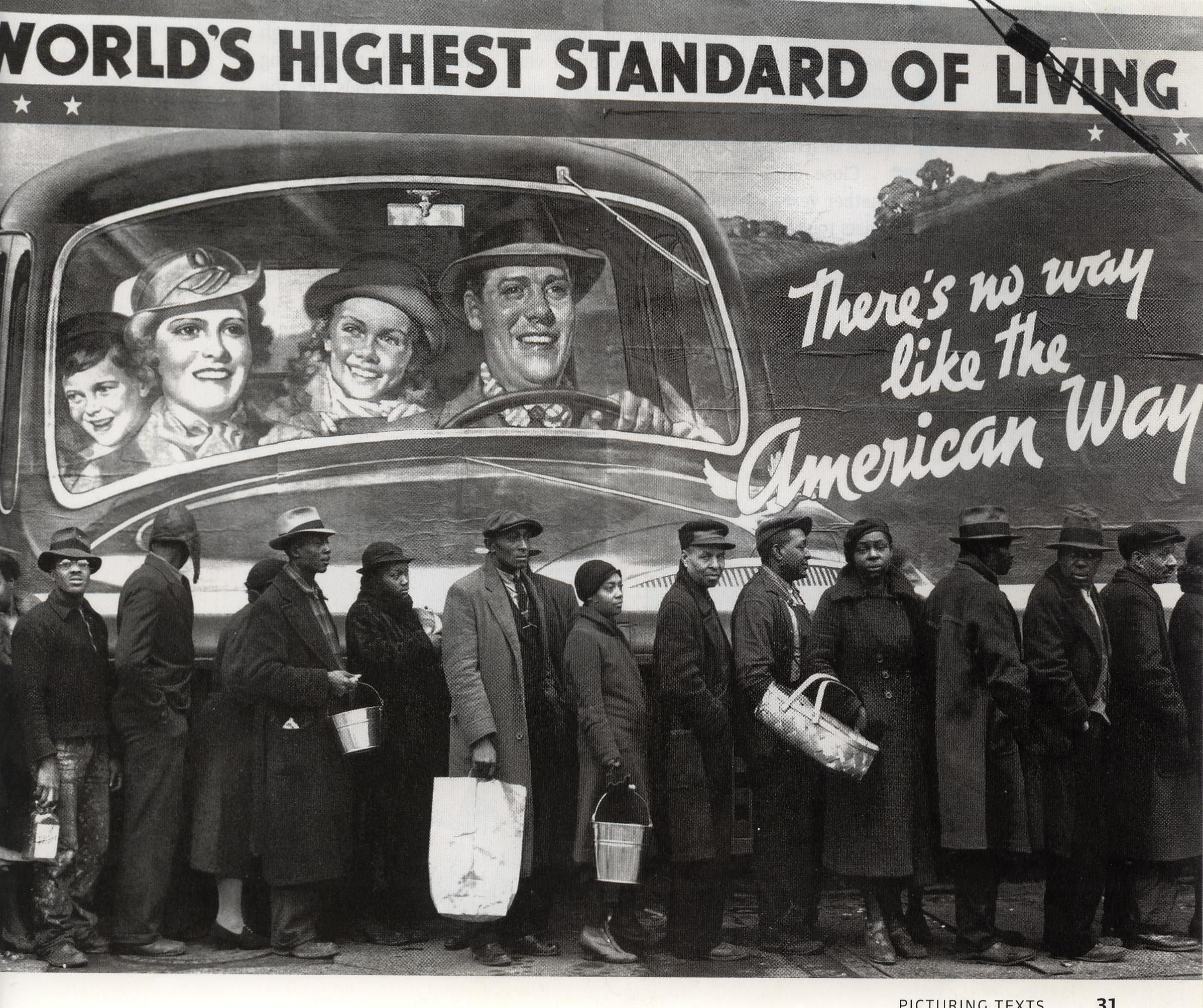 The Great Depression Bread Lines