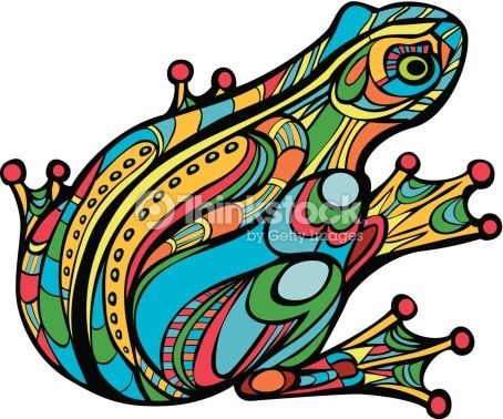 Magic Frog Vector Art | Thinkstock