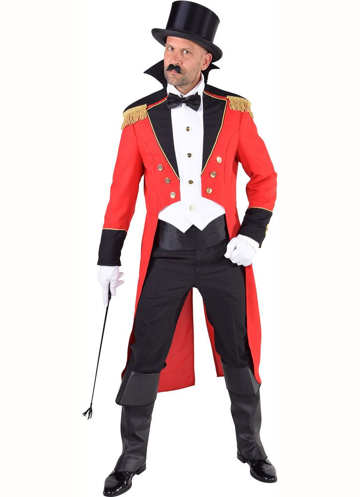 Circus Director / Ringmaster Costume - XS-XXL  sc 1 st  Pinterest : cheap ringmaster costume  - Germanpascual.Com