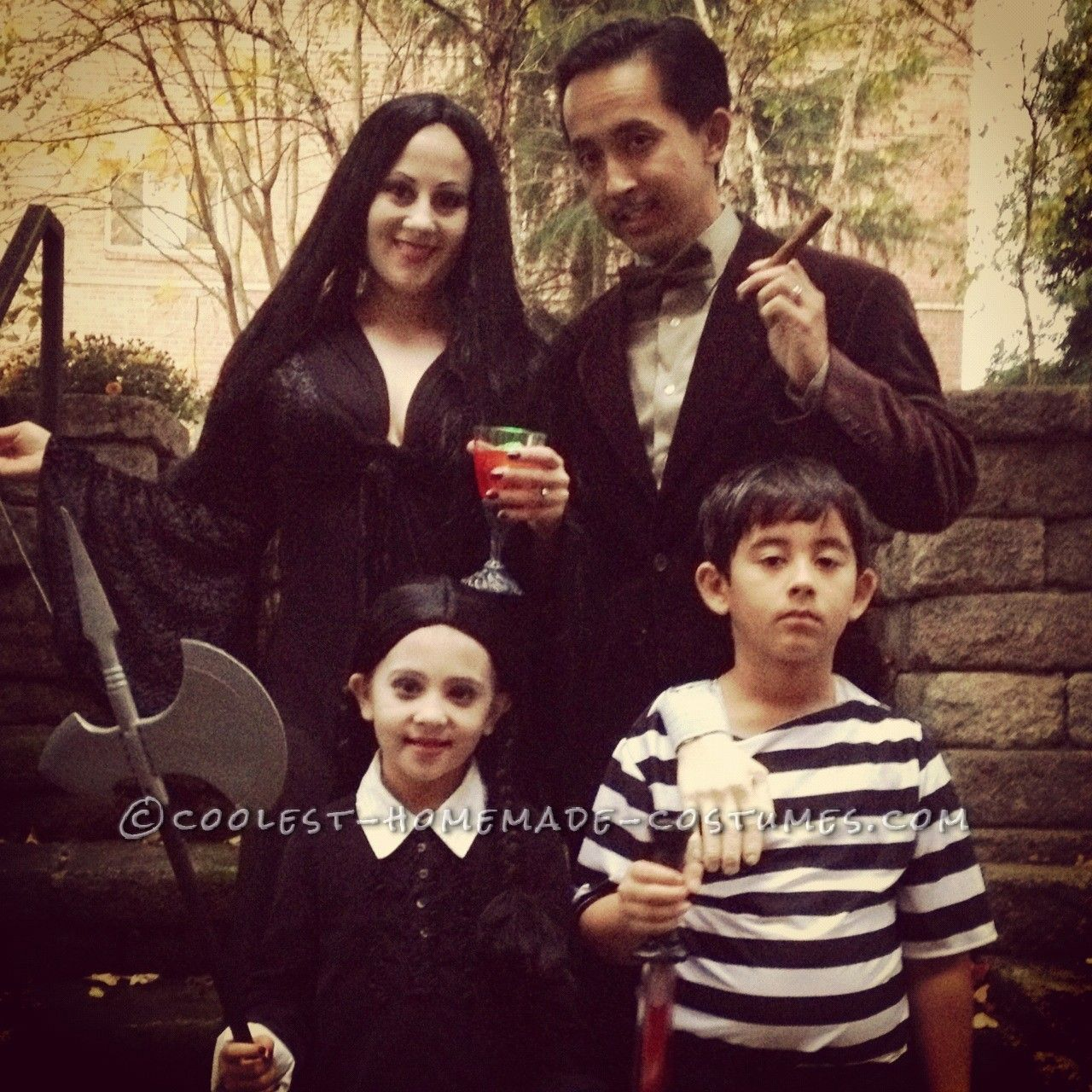 Homemade Addams Family Halloween Costume | Discover best ideas ...