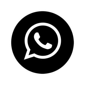 Whatsapp Black Amp; White Icon Whatsapp Logo in 2020