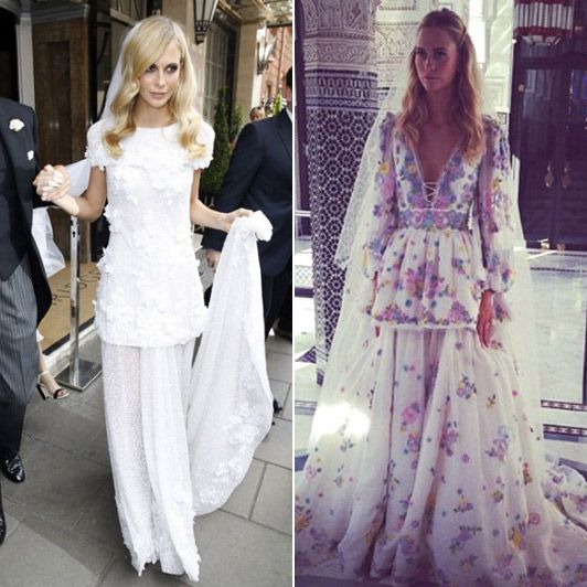 Poppy Delevigne Chanel Pucci Wedding Dresses