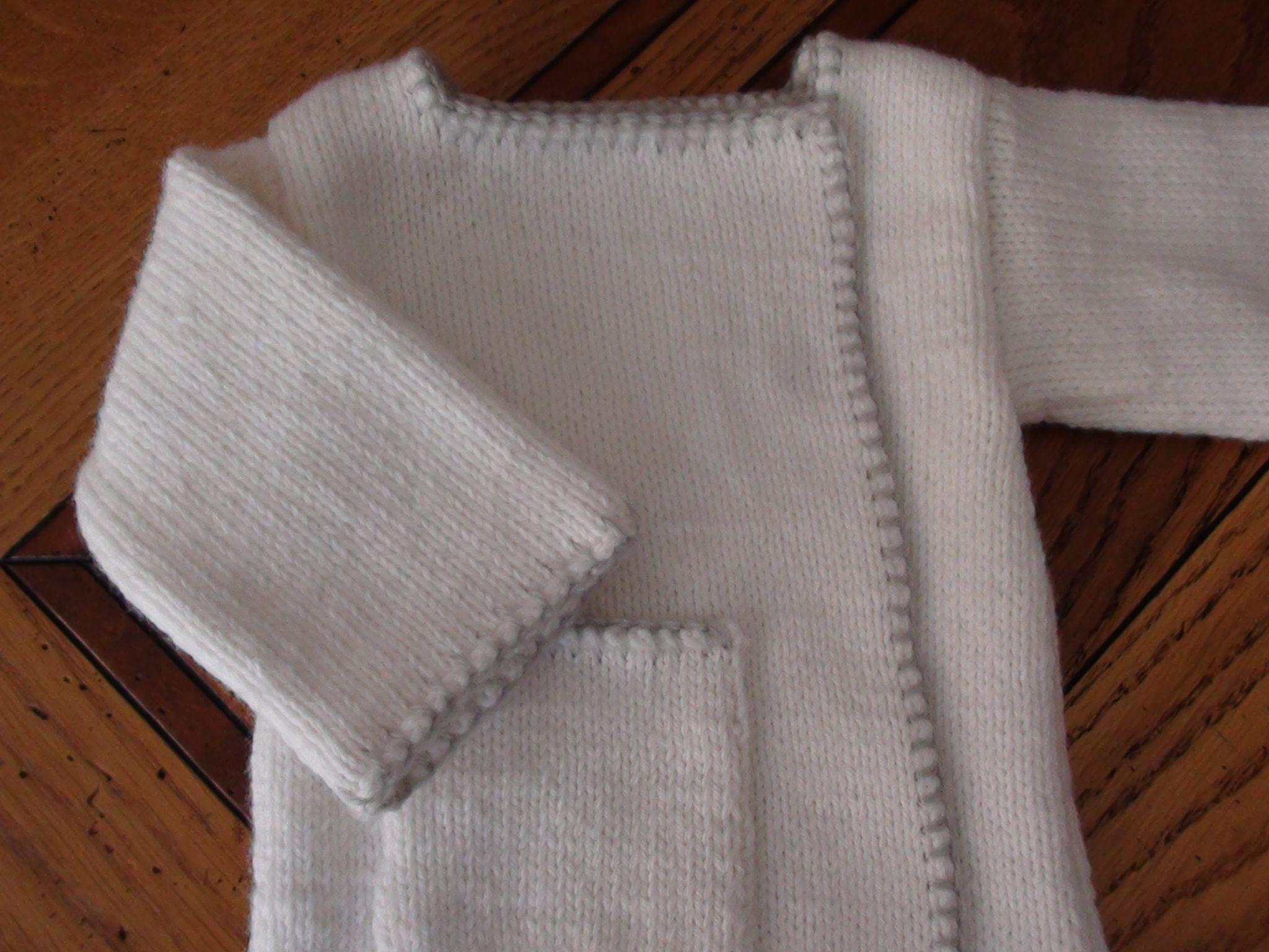 Brassière au tricot