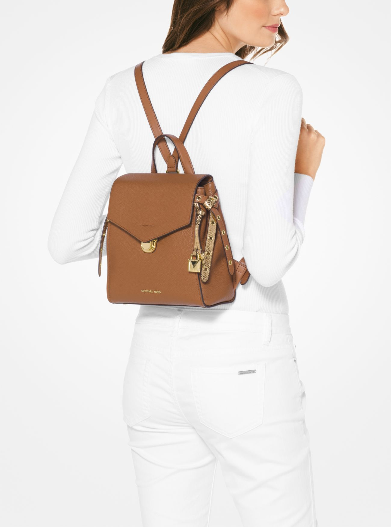 885c1641ae0c MICHAEL Michael Kors Bristol Small Leather Backpack