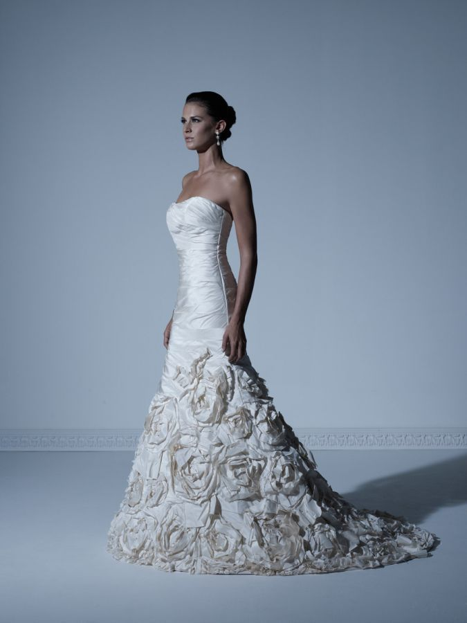 Bridal Gown - 18880 | Bridal gowns, Gowns and Pleated wedding dresses