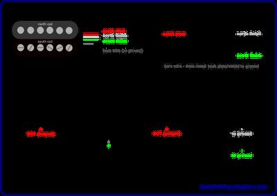 Diagrams And Tips 4 Conductor Humbucker Connections Guitar Building Guitar Pickups Conductors