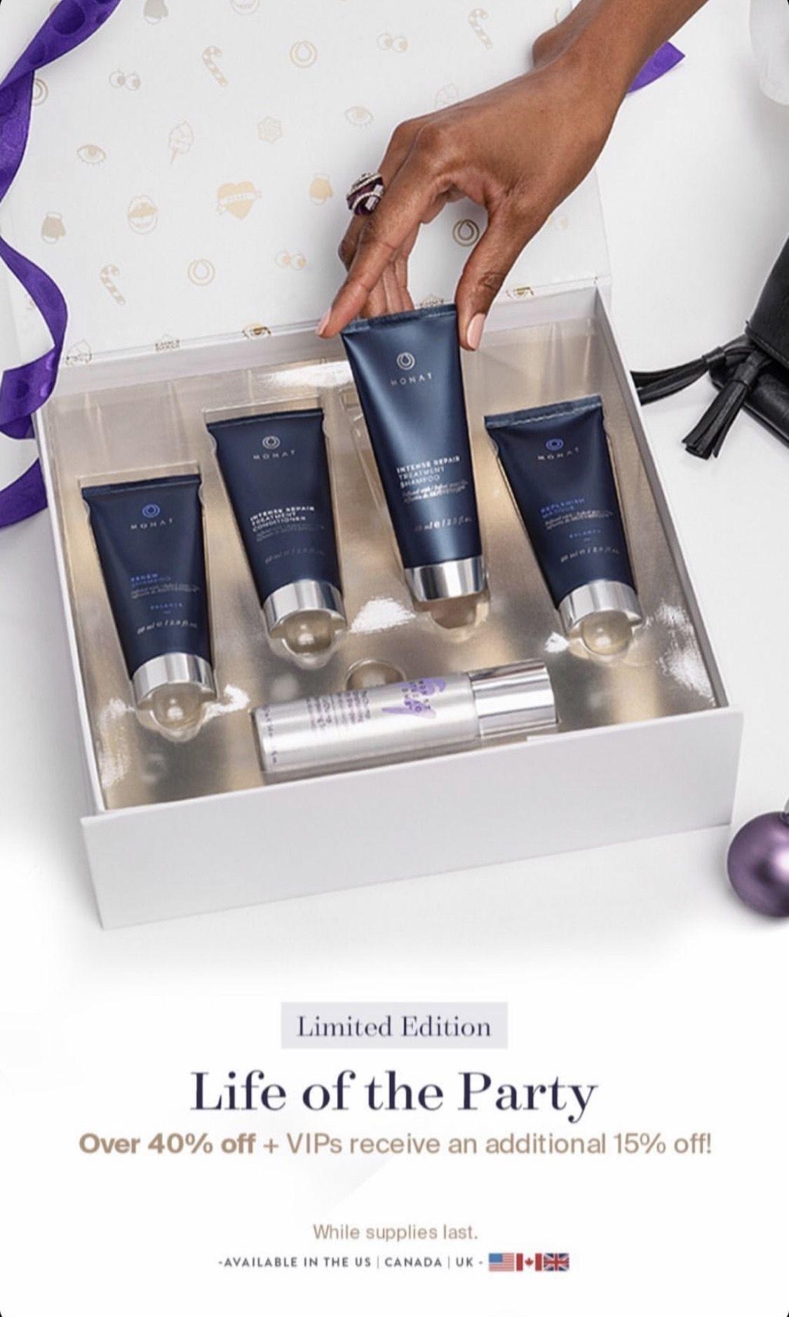2019 Monat Holiday Sets Monat, Anti aging skin products