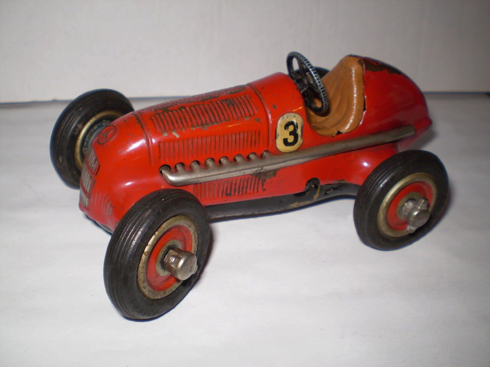 Vintage U S Zone Germany Schuco Studio Mercedes Racing Race Car