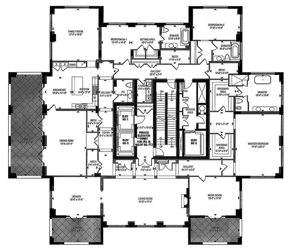 155 Avenue Road Toronto Floor Plans Floor Plans New York Apartments Bedroom Floor Plans