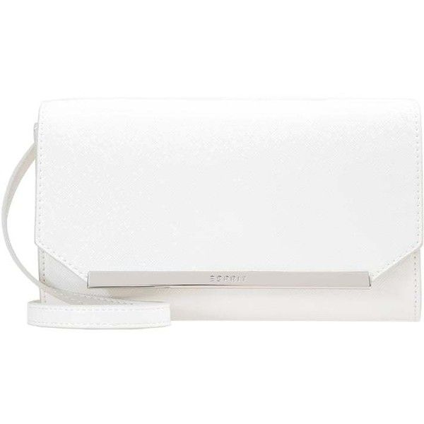 Clutches Off White Zalando Liked On Polyvore Featuring Bags Handbags