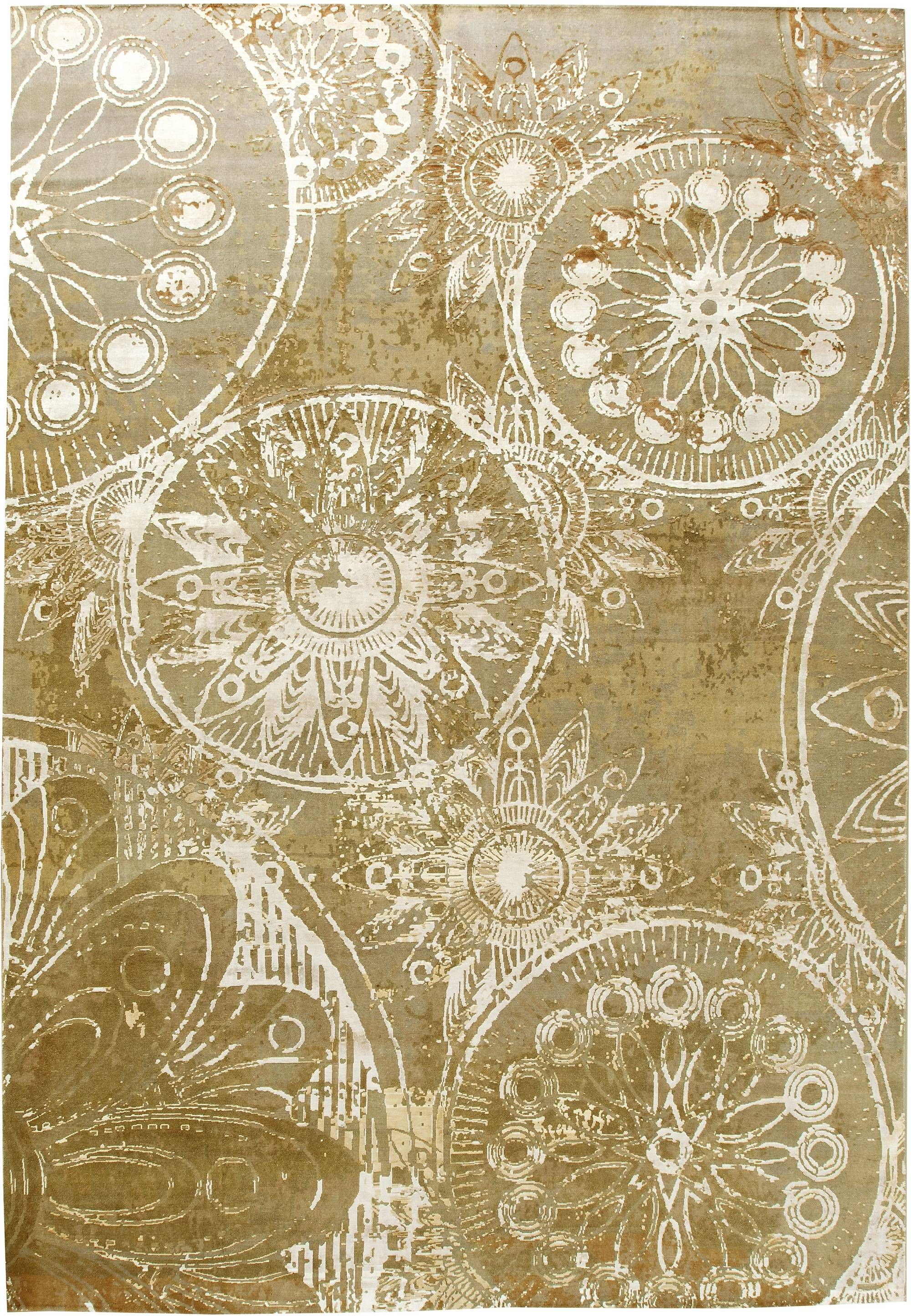 Contemporary Rug N11255 By Doris Leslie Blau