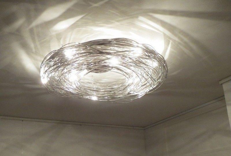 Knikerboker Deckenlampe Confusione - aus elox. Aludraht ...