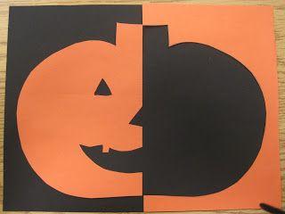 Savvy Second Graders: Pumpkin Art