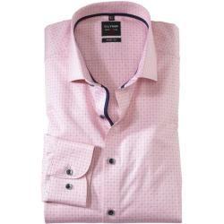 Photo of Olymp Level Five Hemd, body fit, Royal Kent, Rosé, 40 Olymp