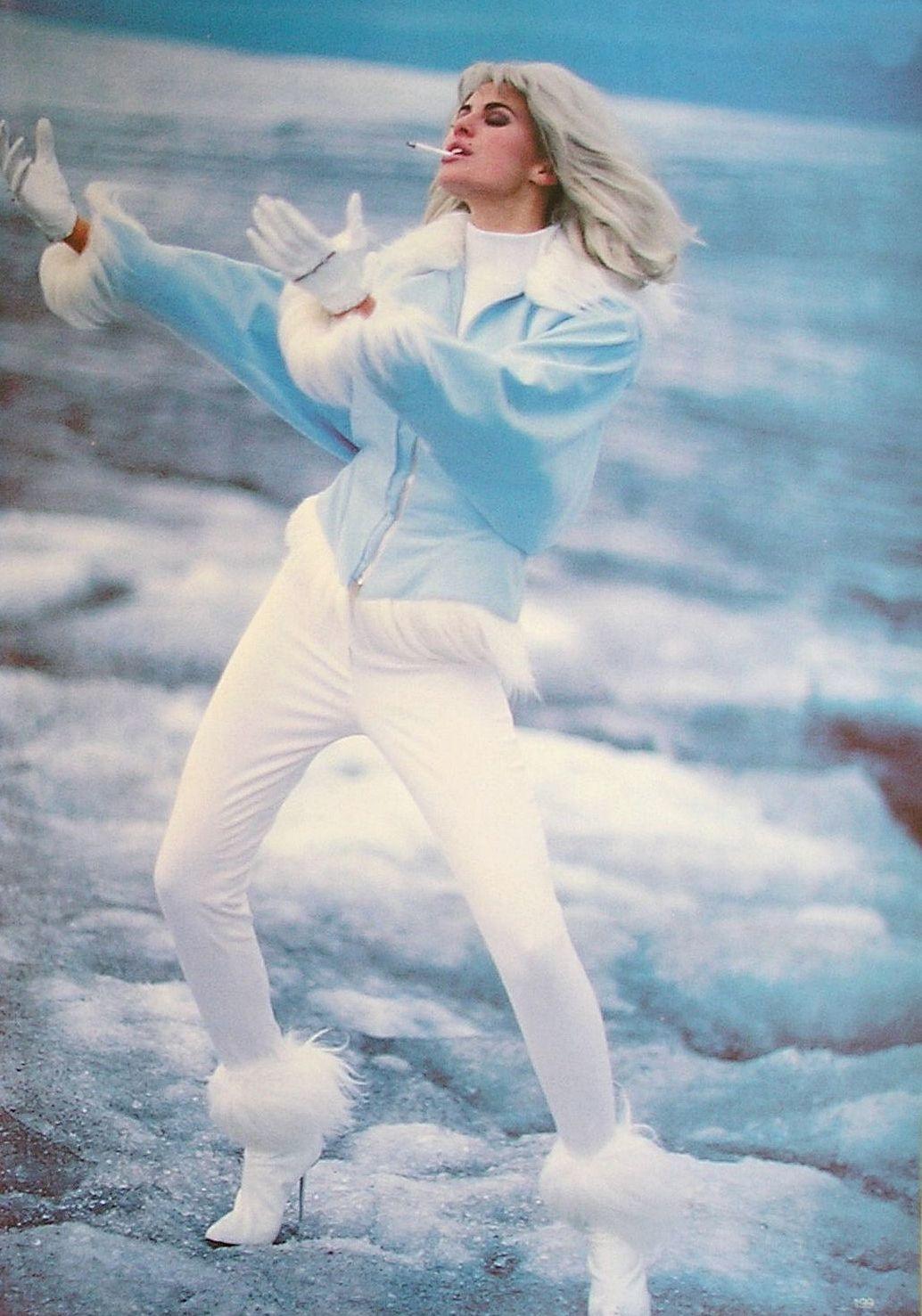 80s 90s Supermodels Eiszeit Vogue Germany November 1991
