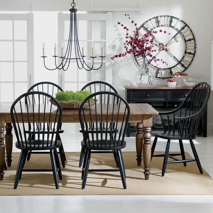 Photos Idées Pour Revamper Votre Salle à Manger Traditionnelle - Table salle a manger bois rustique pour idees de deco de cuisine