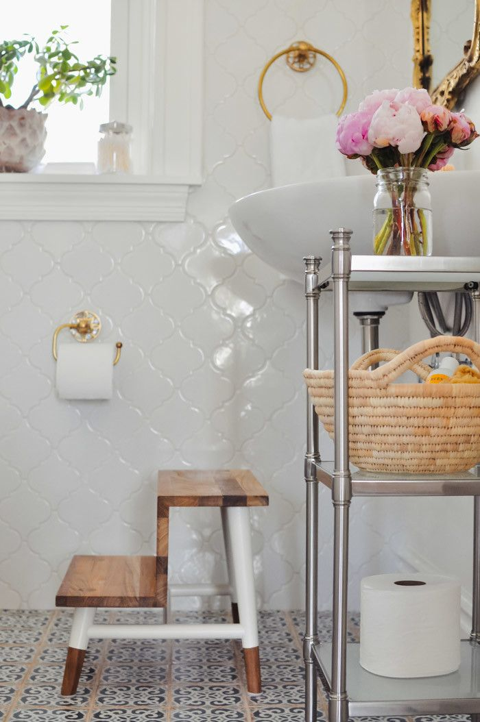 Bathroom Remodel A timeless mix Stools, Interiors and Kitchens