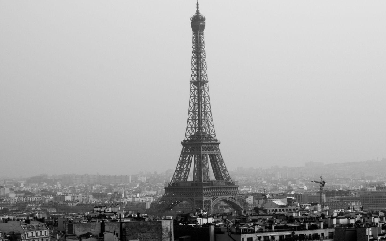 Paris France Black White Places Wallpaper Desktop And N Tapestry