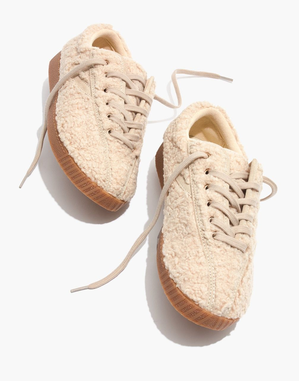 Fall Wishlist : Tretorn® Nylite Plus Sneakers in Cream Faux
