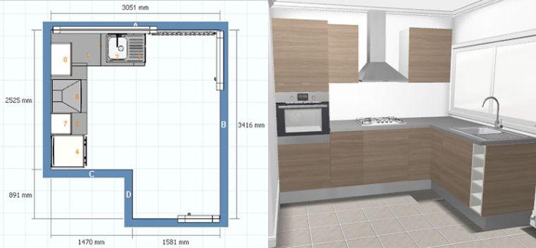 Faire Un Plan De Cuisine Ikea Idee De Modele De Cuisine Inside