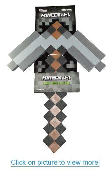Minecraft Foam Pickaxe #Minecraft #Foam #Pickaxe