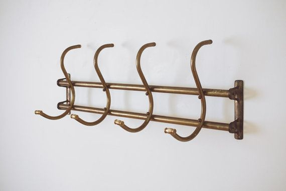 This Item Is Unavailable Wall Mounted Coat Rack Vintage Brass Brass