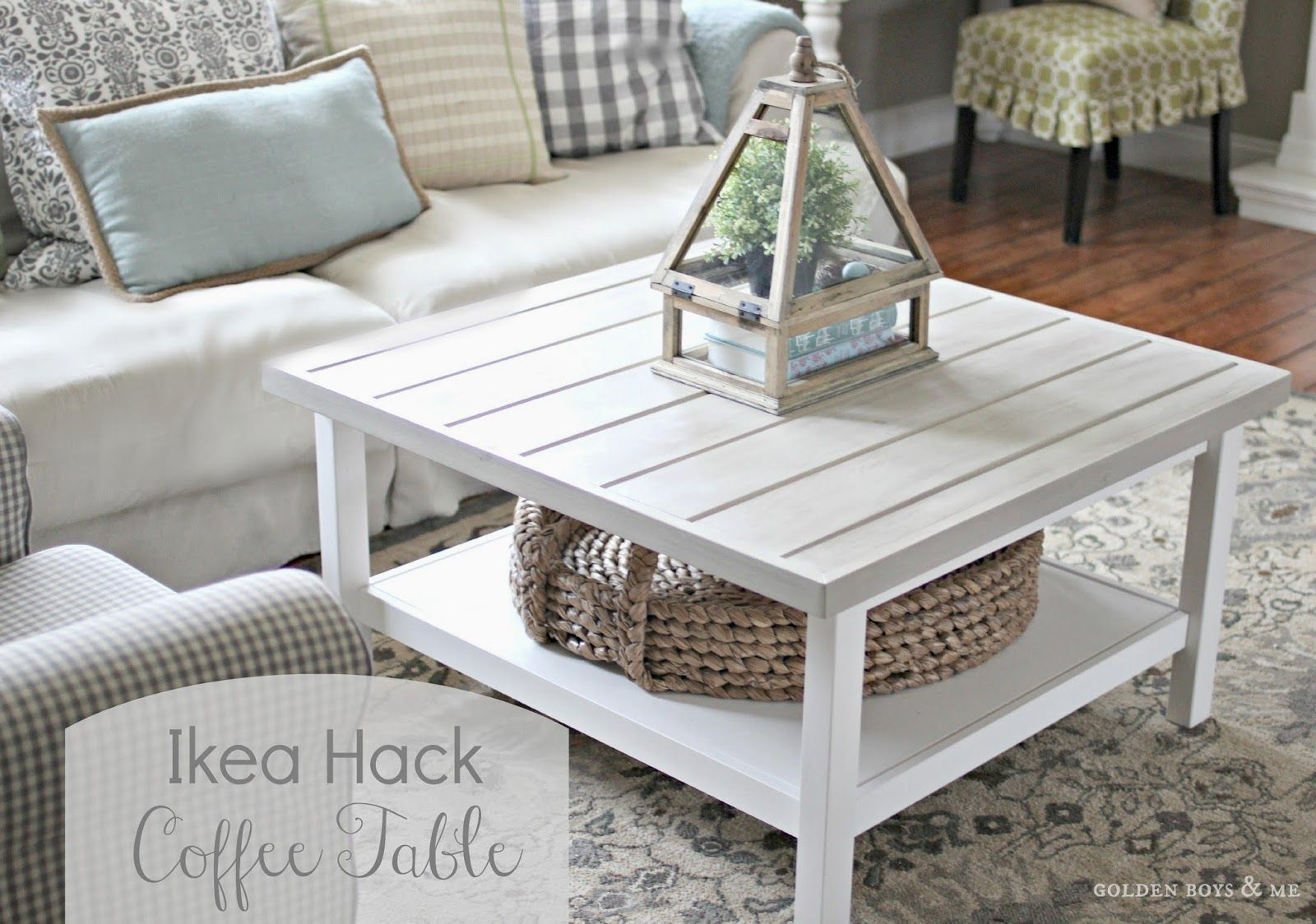 Coffee Table (Ikea Hack) Ikea hemnes coffee table, Ikea