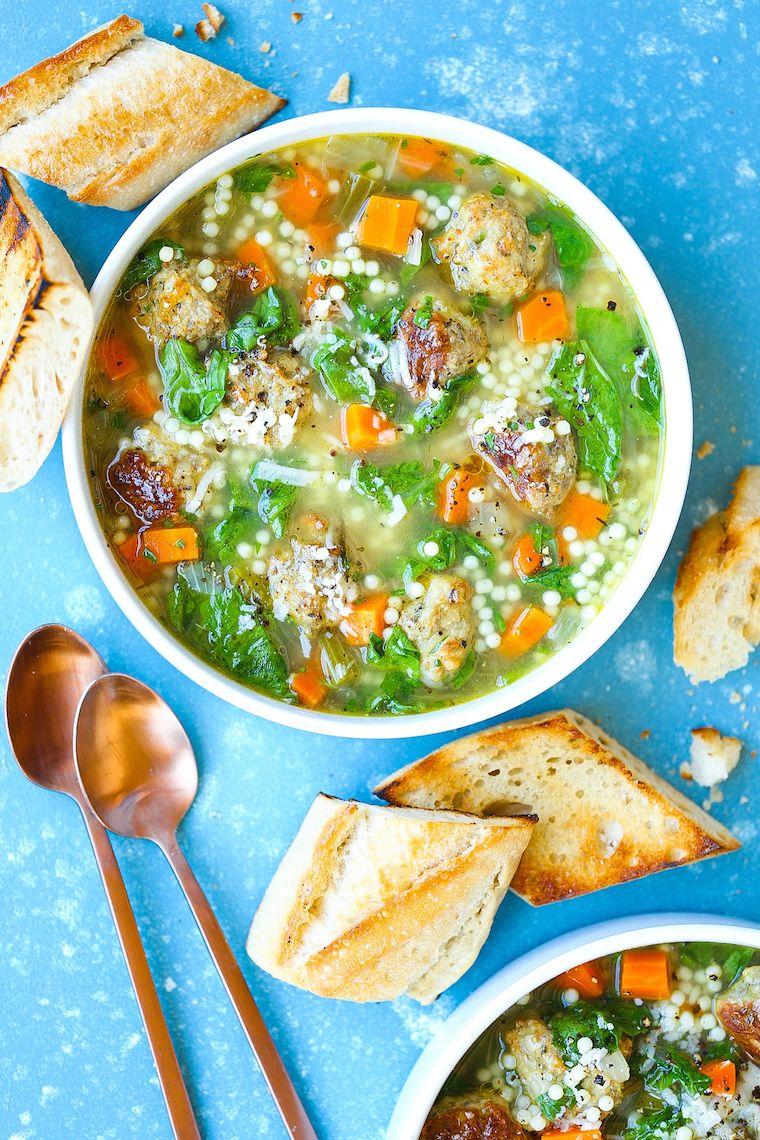 Italian Wedding Soup Recipe Italian recipes, Wedding