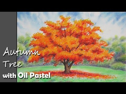 How To Paint Birch Tree Trunks In A Basic Step By Step Acrylic Painting Tutorial By Jm Lisondra Youtube Oil Pastel Oil Pastel Drawings Easy Oil Pastel Art