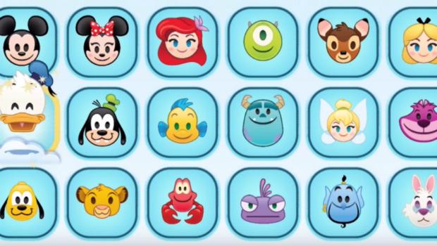 Disney Lanza Su Propia Coleccion De Emojis Con Caras De Sus Personajes Mas Famosos Disney Personajes Emojis
