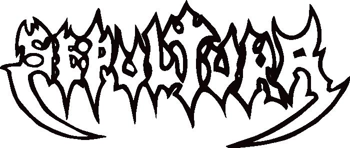 sepultura logo music band logos pinterest logos and heavy metal rh pinterest com Behemoth Double Eagle Band Logo behemoth band logo font