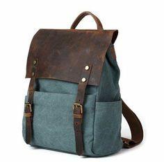 bitifo nouveau tendance sac dos sac de voyage sac paules loisirs en canevas et cuir. Black Bedroom Furniture Sets. Home Design Ideas
