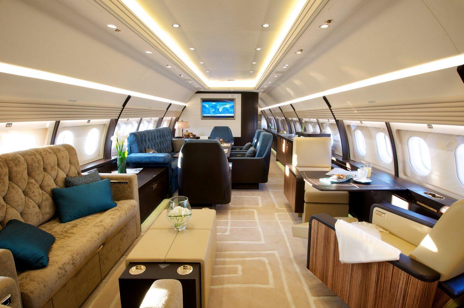 Luxury Jet Interior Images