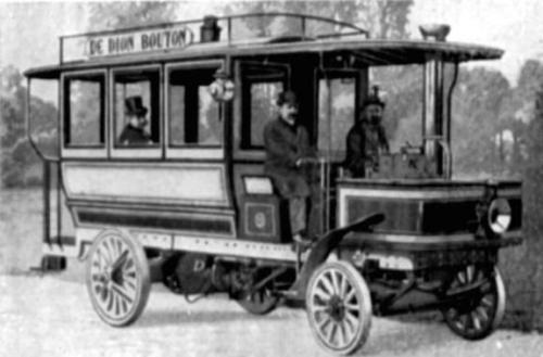 de dion bouton steam bus