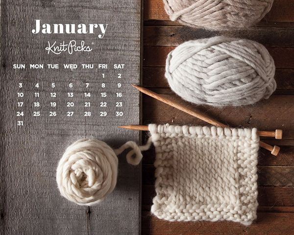 Knitting Desktop Background : Knitting wallpaper 10 terrific calendar wallpapers for january