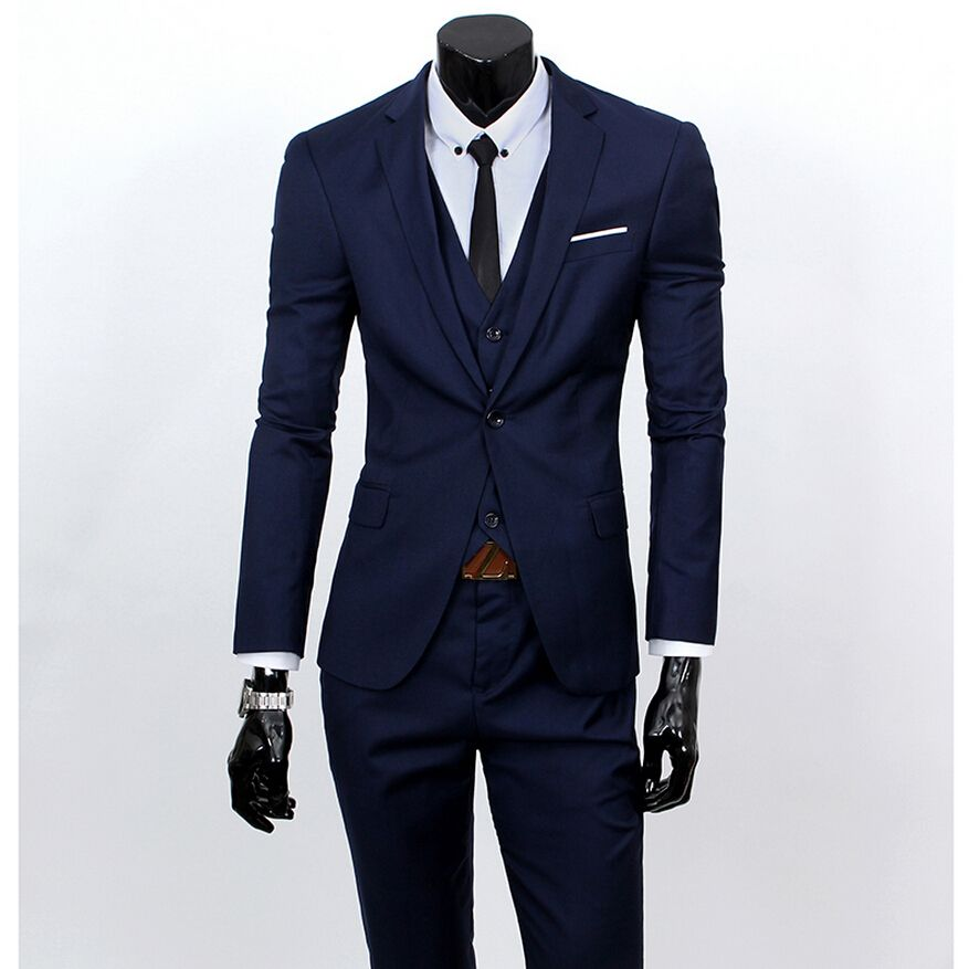 New-Men-Suits-One-Buckle-Brand-Suits-Jacket-Formal-Dress-men ...