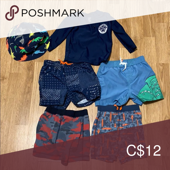 Joe Fresh Boys Belted Shorts in amazing patterned Navy Colour