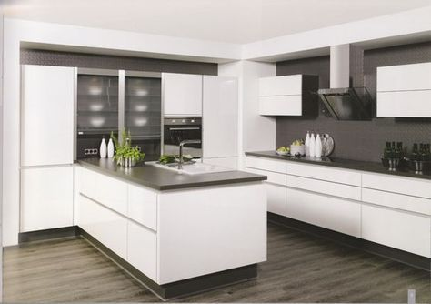 Beispiele für Küche ohne Griffe | Nails | Pinterest | Küche ohne ...