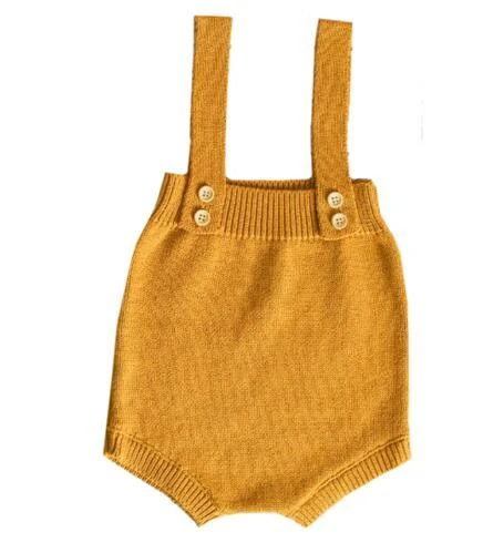 Photo of Baby Knitting Romper Cute Warm Baby Jumpsuit Newborn Baby Boy Clothes Cottondresskily